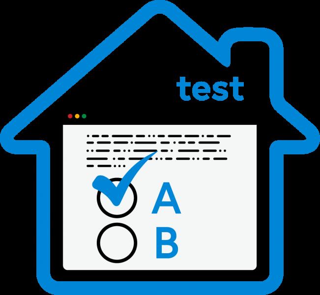 Il logo di TEST @CASA